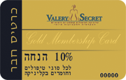 Valery secret club card